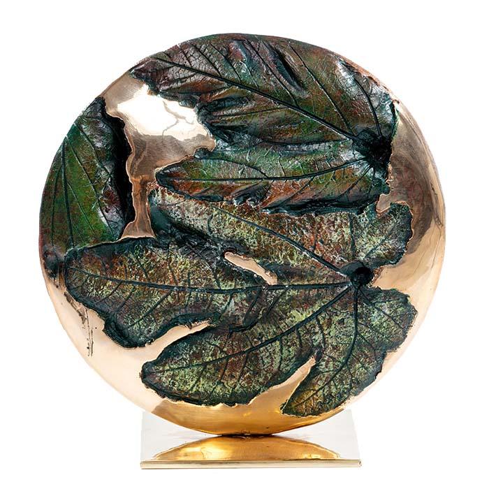 Sculpture bronze Caroline White CRB