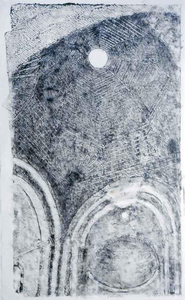 Monotype sur papier