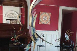 """Exposition sculptures bronze : """"RETROUVAILLES"""""""
