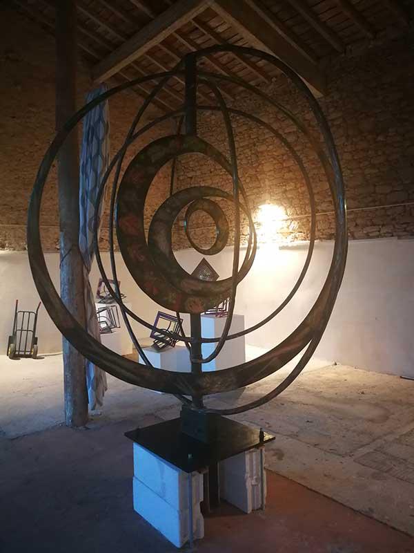 sculpture monumentale Light Play 3