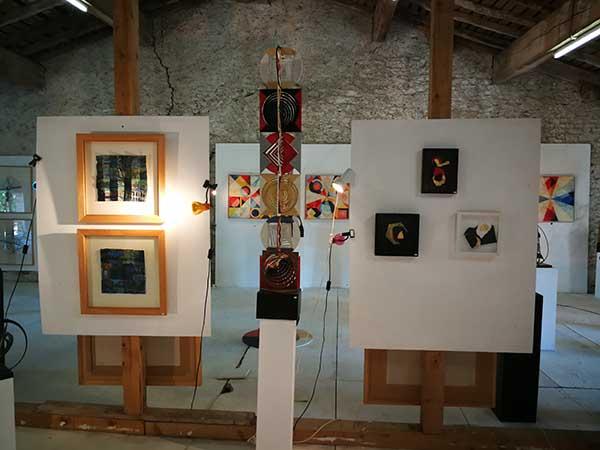espace d'exposition Caroline White