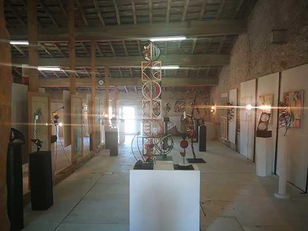 espace d'exposition