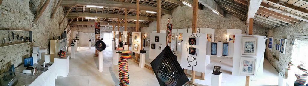 Salle d'exposition - Caroline White Sculpteur